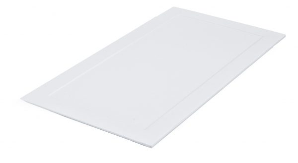 Bandeja Pequeña Hervidor De Agua. Color Blanco.